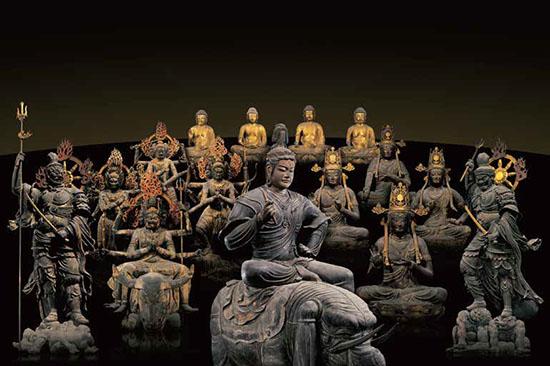 仏像曼荼羅イメージ