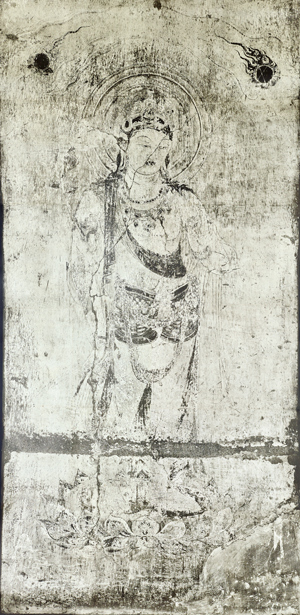 法隆寺金堂壁画(複製) 第3号壁 観音菩薩像