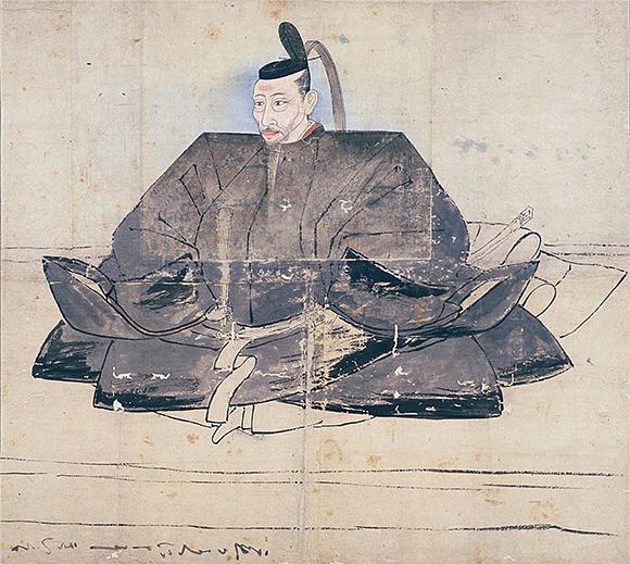 重要文化財 豊臣秀吉像画稿(とよとみひでよしぞうがこう)