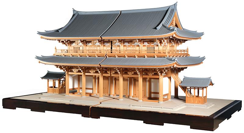 東福寺三門 10分の1模型
