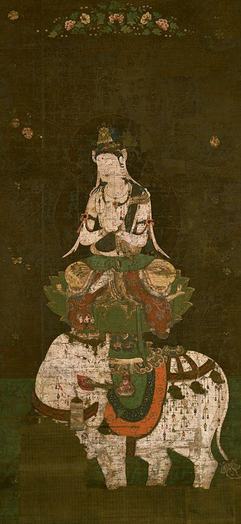 「普賢菩薩像 東京国立博物館」の画像検索結果