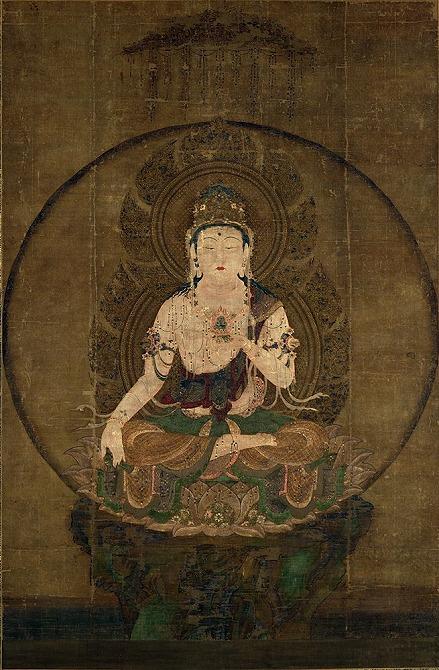 "Image of ""Kokuzo Bosatsu (Akasagarbha)."""