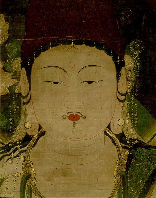 『孔雀明王像(くじゃくみょうおうぞう)』の画像