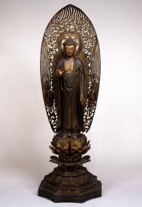 "Image of ""Standing Amida Nyorai(Amitabha)"""
