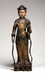 """Image of """"Standing Monju Bosatsu(Manjusri)."""""""
