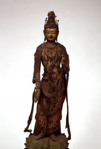 "Image of ""Standing  Bosatsu (Bodhisattva)."""