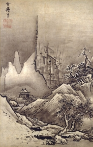 "Image of ""Landscapes of autumn and winter."""