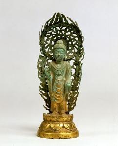 """Image of """"Standing Buddha."""""""