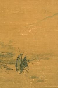 『洞山渡水図(とうざんとすいず)』の画像