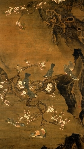 """Image of """"Flowers and birds of the four seasons."""""""