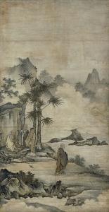 "Image of ""Patriarchs of Zen Buddhism."""