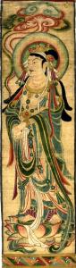 "Image of ""Standing Bodhisattva, banner."""