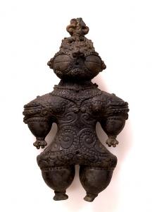 "Image of ""Dogu (clay figurine)."""