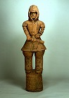 "Image of ""Warrior in keiko type armor(terra-cotta tomb figurine)."""