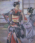 "Image of ""Maiko Girl, By Kuroda Seiki, 1893 (Important Cultural Property) """
