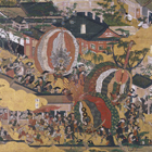 "Image of ""Scenes In and Around Kyoto, By Iwasa Matabe, Edo period, 17th century (Important Cultural Property)"""