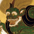 "Image of ""Wind and Thunder Gods, by Tawaraya Sotatsu, Edo period, 17th century (National Treasure, Kenninji, Kyoto)"""