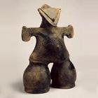 """Image of """"Dogu from Nakappara site, Nagano Prefecture, Jomon period, 2000 BC - 1000 BC (Togariishi Museum of Jomon Archeology, Chino city, Nagano)"""""""