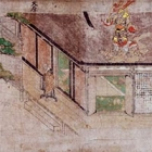 """Image of """"Detached Segment of Illustrated Scroll of Legends about the Origin of Yuzu Nenbutsu Buddhism (detail), Formerly owned by Mr. Hashimoto Tatsujiro, Nanbokucho period, 14th century (Important Art Object)"""""""