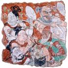 『衆人奏楽図 高昌ウイグル期・10~11世紀 中国・ベゼクリク石窟第33窟 大谷探検隊将来品』の画像