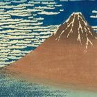 "Image of ""Thirty-six Views of Mount Fuji: A Mild Breeze on a Fine Day, By Katsushika Hokusai, Edo period, 19th century"""