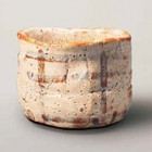 "Image of ""Tea Bowl, Shino type, Known as Unohanagaki (""deutzia shrubs""), Azuchi-Momoyama – Edo period, 16th–17th century, Mitsui Memorial Museum, Tokyo (National Treasure) """