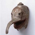 "Image of ""Gyodo Mask: Gobujogoten, Formerly passed down at Niutsuhime Jinja, Wakayama, Kamakura period, 14th century"""