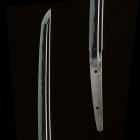 "Image of ""Katana Sword, Known as ""Kanze Masamune"" Unsigned, By Masamune, Kamakura period, 14th century (National Treasure)"""