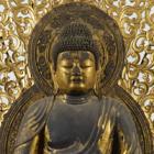 『国宝 阿弥陀如来坐像 平安時代・仁和4年(888) 京都・仁和寺蔵』の画像