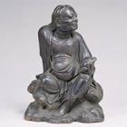 "Image of ""The Taoist Immortal Xiama, By Takahashi Hozan, Edo Period, 19th century"""