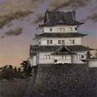 "Image of ""Former Edo Castle (detail), By Takahashi Yuichi, Dated 1872"""