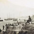 『黄河渡場(部分) 早崎稉吉撮影 明治36年・光緒29年(1903)』の画像