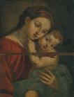 『重要文化財 聖母子像 ヨーロッパ 長崎奉行所旧蔵品 16~17世紀』の画像