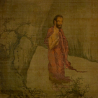 """Image of """"The Buddha Descending from the Mountain, By Liang Kai, Southern Song dynasty, 13th century (National Treasure)"""""""