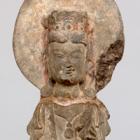 """Image of """"보살 입상(부분) 중국 6세기"""""""
