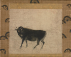 """Image of """"Part of Illustrations of Fine Oxen, Kamakura period, 13th century (Important Cultural Property)"""""""