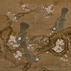 """Image of """"Flowers and Birds of the Four Seasons (detail), By Lu Ji, Ming dynasty, 15th–16th century (Important Cultural Property)"""""""