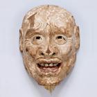 "Image of ""Noh Mask: Jō (Waraijō), Muromachi period, 15th century (Kasuga Shrine, Gifu, Important Cultural Property)"""