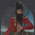 "Image of ""Portrait of Crown Prince  'Abbas Mirza (detail), Qajar Iran, ca. 1818–1820 """