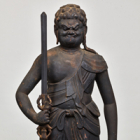 "Image of ""The Wisdom King Fudō (detail), Heian period, 12th century (Sensōji Temple, Tokyo)"""