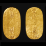 """Image of """"Excavated Gold Coins from the Edo Period (1603–1868)"""""""