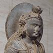 Standing Bodhisattva, Gandhara, Pakistan, Kushan dynasty, 2nd century