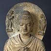 Seated Buddha, Gandhara, Pakistan, Kushan dynasty, 2nd - 3rd century