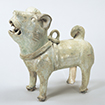 Dog, Green glaze, China, Eastern Han dynasty, 2nd - 3rd century (Gift of Mr. Takeyoshi Michikazu)