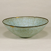 Bowl with Foliate Rim, Celadon glaze, Guan ware, China, Southern Song dynasty, 12th - 13th century (Important Cultural Property, Gift of Dr. Yokogawa Tamisuke)