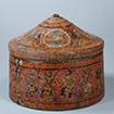 Sarira Casket (Relic container), Subashi or Kumtura Grottoes, China, 6th - 7th century, Otani collection