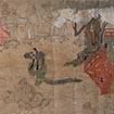 Tengu zoshi emaki (Stories about conceited monks), Toji and Daigoji Version (detail)<br /> Kamakura period, 13th century (Important Cultural Property)<br /> February 24 - April 5, 2015