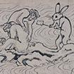 A rabbit washing a monkey's back (1st period)