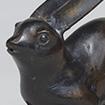 <i>Water Dropper, Long-eared hare design</i>, Edo period, 18th - 19th century
