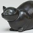 <i>Water Dropper, Cat design</i>, Edo period, 18th - 19th century